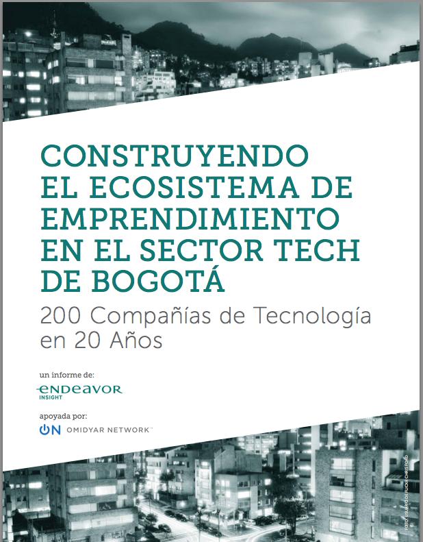 Construyendo el ecosistema de emprendimiento en el sector tech de Bogotá